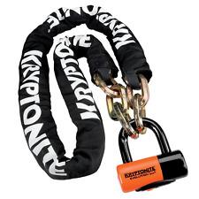 Kryptonite 1217 New York Bike Chain 170cm & Evolution Series 4 Disc Lock
