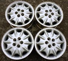 4 Stück Alufelgen 15' Chrysler, Audi, Vw - 5x100 - ET50 - 6J - Original! - USA