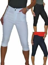 Unbranded Machine Washable Regular Size Capris, Cropped Pants for Women