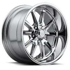 20x9.5 US MAG U110 5x4.5 ET01 Chrome Rims New Set (4)