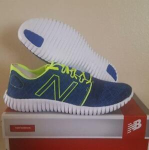 New Balance Pacific Running Walking 730v3 SOLE Flex grooves Blue Lime Shoes 11