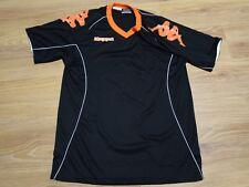 53fecf73b3a6 Mens KAPPA black orange Shirt Sports Football Gym Top T-Shirt size XLarge