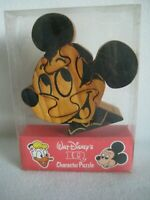 Walt Disney Wooden Puzzle IQ Character Mickey Mouse - Vintage - RARE