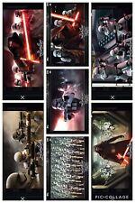 Topps Star Wars Digital Card Trader Black FO Widescreen 7 Card Insert Set