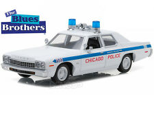 """Blues Brother's - Chicago Police"" 1975 Dodge Monaco 1:24 Scale Diecast Model"