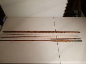 Horrocks Ibbotson 9' Bamboo Fly Rod Pocono   extra top section bamboo holder