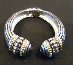Gorgeous Hinged Cuff Bracelet in Style of Famous Designer - Retail $99.00