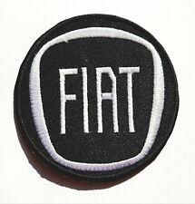 FIAT Car Iron On Patch Sew On Embroidered Patch T shirt Jacket Patch