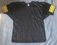VTG 1990 NEW WILSON NFL BLANK Jersey Pittsburgh STEELERS size 3XL RARE