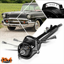 "For 55-59 Chevy GM Automatic Shift Hot Rod Tilt 32"" Long Steering Column Black"