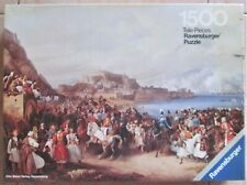 Puzzle 1500 Pieces L'Occupation Of Nauplia Of Re Otto-Ravensburger 1977- Germany