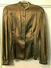 Vintage Valentino Couture Silk Blouse