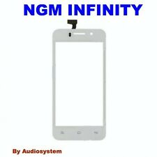VETRO + TOUCH SCREEN PER NGM FORWARD INFINITY BIANCO LCD DISPLAY COVER RICAMBIO