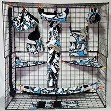 Skulls crossbone*15 PC Sugar Glider Cage set * Rat * double layer Fleece