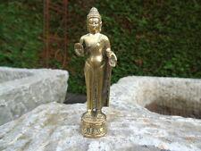 BOUDDHA DEBOUT  EN BRONZE   , statue bouddha bronze