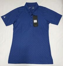 NEW Antigua Womens Jewel Desert Dry Golf Polo Shirt Navy Blue Size XS
