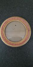 Gold Metal And Gem Photo Phrame C&A Sheffield Home 10 Cm