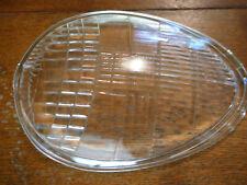1938 ? Lincoln Zephyr head light lenses, a pair