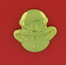 Scuba Diver - regulation - gold mirror finish - Usa Made - Uscg Officer