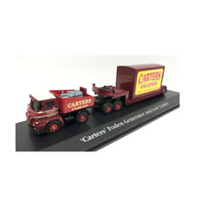 Foden Ballast Tractor Low Loader  Carters Steam Gallopers 1:76 Scale