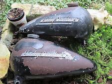 Harley Davidson Panhead   Factory Hillclimber / TT Gas Tanks   knucklehead