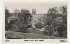Helmsley From Castle Gardens Yorkshire England 1964 Rppc Postcard Us067