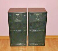 Vintage Genuine Soviet HiFi high quality USSR speakers VEGA 50ac-106