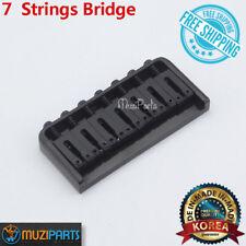 7 Strings Guitar Fixed Bridge For Ibanez Schecter ESP LTD Jackson Washburn-BLACK