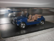 Spark 1496 - Fiat 500 Jolly 1959 blue - 1:43 Made in China