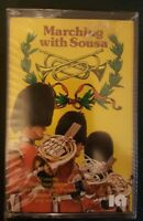 Marching With Sousa Cassette Brand New factory sealed