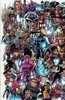 X-Men; Vol. 4 1E Variant Mark Bagley Every Mutant Ever Cover NEAR MINT