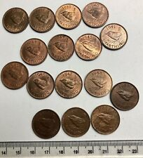 More details for 1937 to 1952 complete date run of george vi high grade farthings (c084)