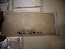 5 DOLLAR SILVER NEW USA BILL -EACH IN HARD BILL HOLDER- (GREAT COLLECTIBLE GIFT)