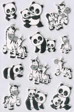 "Herma Sticker Magic ""panda- und Zebrafamilien"" Foam"