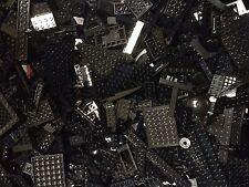 Lot Of 400 Random BLACK Lego Pieces & Parts / Bulk BLK LEGO Bricks