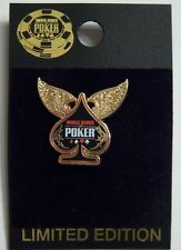 WSOP World Series of Poker Collector Pin - Winged Spade