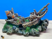 Classic Polyresin Ship Aquarium Decorations