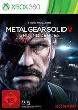 Microsoft XBOX 360 Spiel ***** Metal Gear Solid V 5 Ground Zeroes ****NEU*NEW*18