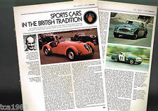Vintage DONALD (Austin) HEALEY History Article / Photos / Pictures: 3000,100,