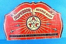 """Vintage """"Superior"""" Needle Case Book Made in Germany"""