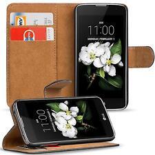 Klapptasche für LG K7 Handy Hülle Case Flip Cover Wallet Schutz Tasche Etui