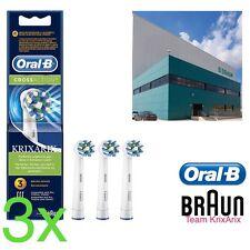 Oral-B Cross Action Testine di Ricambio 3 Pezzi OralB Ricarica CrossAction PRO
