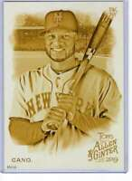 Robinson Cano 2019 Allen and Ginter 5x7 Gold #41 /10 Mets