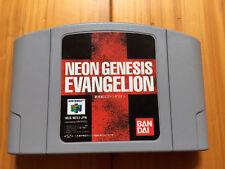 Nintendo 64 Neon Genesis Evangelion N64 Japan F/S