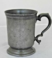 More details for unusual london pint pewter mug from about 1830