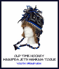 OTH Old Time Hockey Winnipeg Jets Hawkling Toque Beanie! New NHL Winter Youth JR
