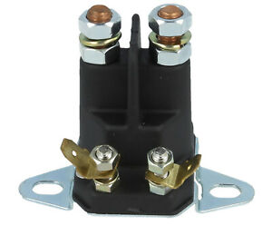 Solenoid Switch Fits MTD Ride On Lawnmower Tractor 4 Pole - 8mm Terminals