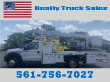 2007 FORD F-550 6.0 BULLET PROOF ENGINE, ALTEC BUCKET TRUCK