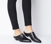 Womens Vagabond Hayley Mule Heels Black Heels