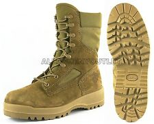 US Military Bates USMC Marine HOT WEATHER DESERT COMBAT BOOTS Coolmax 6R